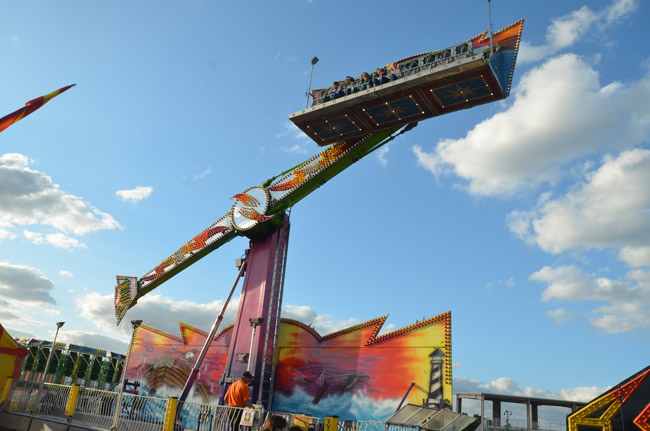 The Flagler County Fair and Youth Show begin to soar tonight. (© FlaglerLive)