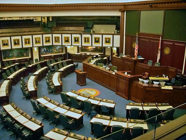 The Florida House at rest. (Steven Martin)