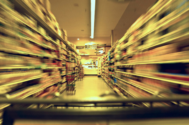 Groceries should not be cudgels. (Brian Legate)