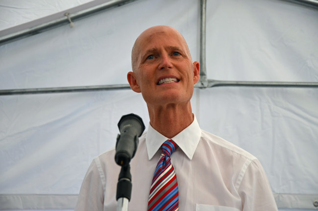 Gov. Scott p[lans to pack the court with conservative justices in his final days in office. (© FlaglerLive)