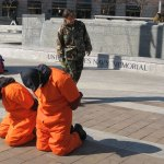 Guantanamo street theater in Washington, D.C. (Mike Benedetti/Flickr)