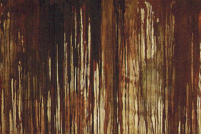 Detail from Herman Nitsch's 'Flagellation Wall,' 1963.