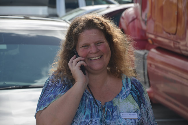 Join Suzy Gamblain and the rest of the Flagler Volunteer Services crew, with appearances by numerous elected officials, in a Hurricane Volunteer Recognition Social at Cattleman's Hall at the County Fairgrounds off Sawgrass Road from 3 to 7 p.m. today. (© FlaglerLive)