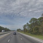 The crash that took a motorcyclist's life took place about two miles north of the intersection with Old Dixie Highway. (Google)