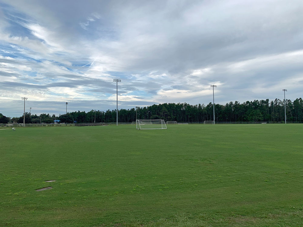 The Indian Trails Sports Complex is the location of the second criminal incident in less than a week. (© FlaglerLive)