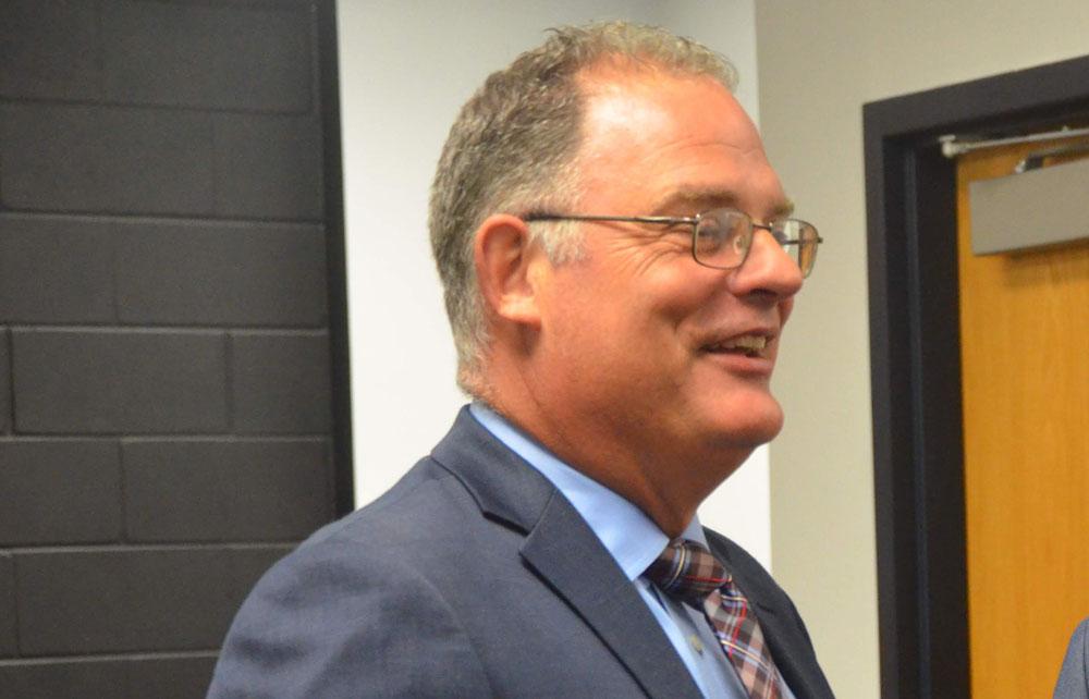 Matanzas High School Principal Jeff Reaves. (© FlaglerLive)