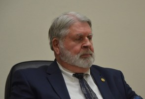 Jerry Cameron is Flagler County's interim administrator. (© FlaglerLive)