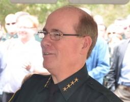 Flagler County Sheriff Jim Manfre. (© FlaglerLive)