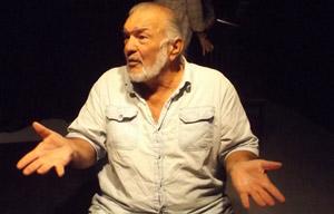 John Sbordone, City Repertory Theatre's indefatigable director. (© FlaglerLive)
