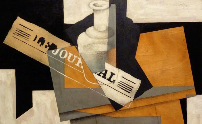 Juan Gris' 'Le Journal,' 1916. press freedom
