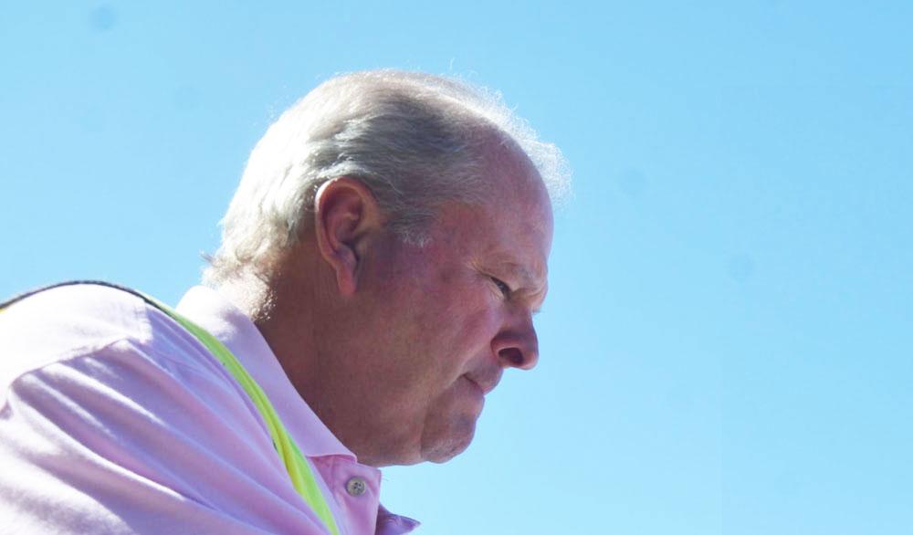 Flagler Beach City Manager Larry Newsom. (© FlaglerLive)