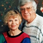 Lieselotte Martha Beilke and her husband Max, who died in the 2001 terrorist attack on the Pentagon.