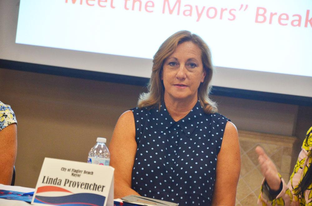 Mayor Linda Provencher. (© FlaglerLive)
