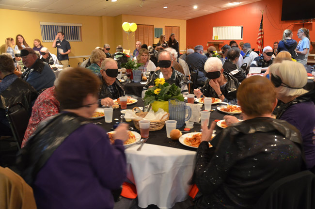 lions club dining in the dark