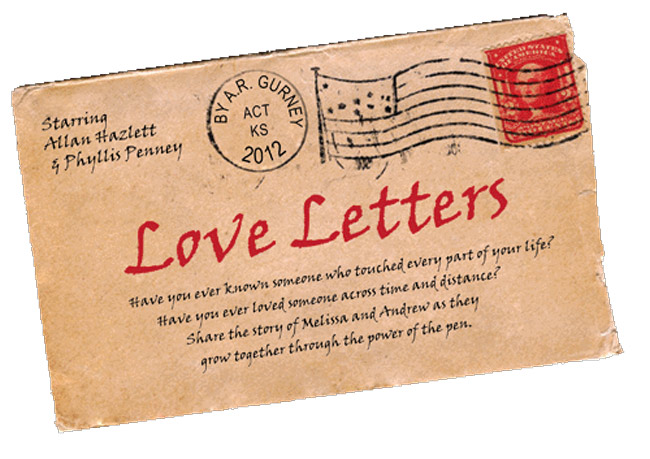 'Love Letters,' the play by A. R. Gurney, is staged at City Repertory Theatre in Palm Coast all weekend. See below.