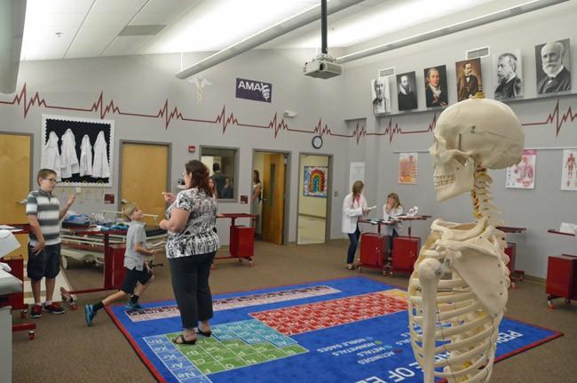 rymfire elementary school medical labflagship program