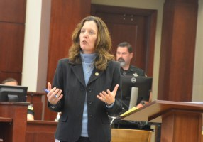 Assistant State Attorney Melissa Clark is prosecuting the case. (© FlaglerLive)