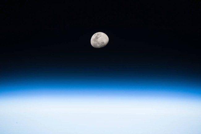 From his vantage point in low Earth orbit aboard the International Space Station, NASA astronaut Randy Bresnik pointed his camera toward the rising Moon and captured this beautiful image on August 3, 2017.  Gamble Rogers has another Moonrise at the Beach this evening. See below. (NASA)