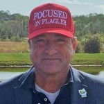 First-year County Commissioner Joe Mullins is self-branding his 'Focused on Flagler' approach, as in this image from his social media platforms. But the approach is keeping a broader picture somewhat out of focus.