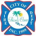 palm coast fire department logo