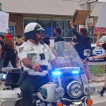 """Policing in Flagler has never been at risk of """"defunding,"""" nor have relations between police and the community lacked for cohesion and respect. (© FlaglerLive)"""