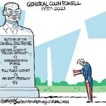 General Colin Powell by David Fitzsimmons, The Arizona Star, Tucson.