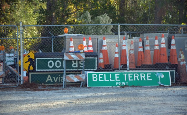 Palm Coast government says its public works plant on U.S. 1 is in dire need of expansion and upgrades. (© FlaglerLive)