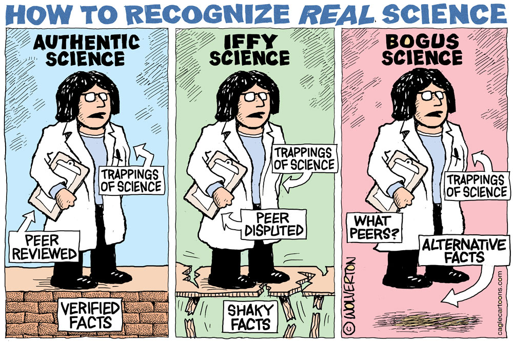 How to Recognize REAL Science by Monte Wolverton, Battle Ground, Washinton.
