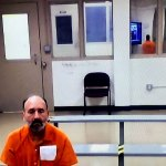Richard Dunn had been close to regaining his freedom until he violated his probation after exhibiting a series of alarming behaviors. He remains at the Flagler County jail, pending the outcome of a hearing that will determine his status. (© FlaglerLive)