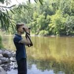 The National Audubon Society's David Ringer speaks in Palm Coast in February.