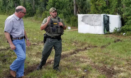 sheriff scene