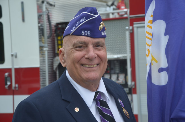 Why not Vietnam vet Stephen Lunsford? He's our nominee. (© FlaglerLive)