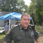 Flagler County Sheriff's Deputy Steve Williams on the job. (© FlaglerLive)