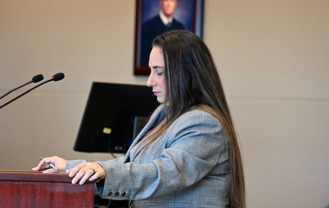 Assistant State Attorney Tara Libby. (© FlaglerLive)