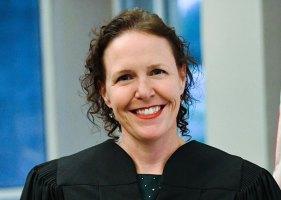 County Judge Andrea Totten. (© AJ Neste for FlaglerLive)