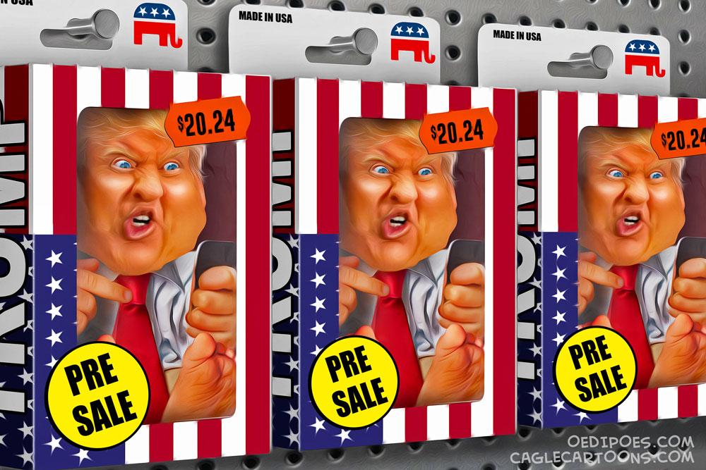 Trump 2024 by Bart van Leeuwen, PoliticalCartoons.com