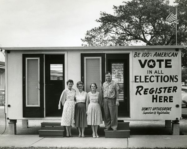 Felons who've served their sentence may yet be only three-fifth American when it comes to voting. (Florida Memory)
