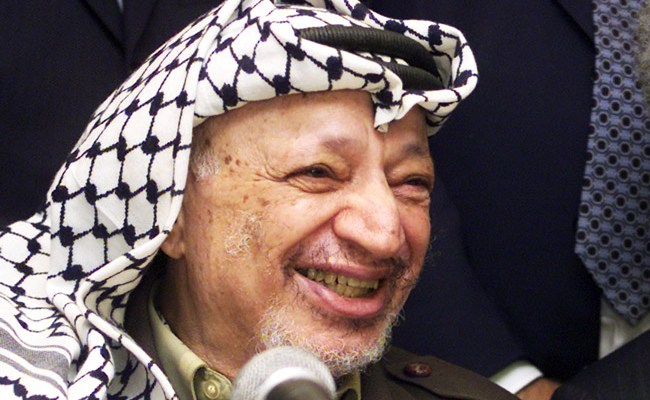 Like Democrats today, Yasser Arafat had a gift for self-destruction even when handed easy victories. (World Economic Forum)