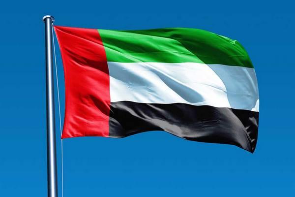 флаг эмирата дубай