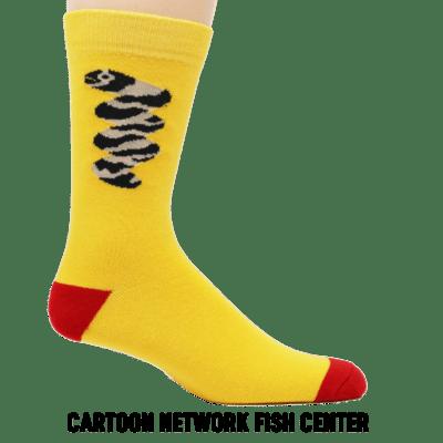 cartoon network fish center text