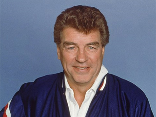 1987 file photo: Chuck Daly, head coach of the Detroit Pistons