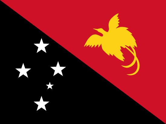 Bandera de Papúa Nueva Guinea