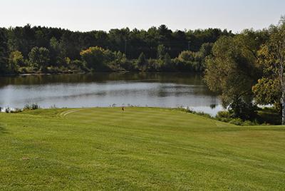 Algonquin Golf Club Hole 18 Green