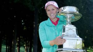 Brooke Henderson wins the 2016 KPMG Women's PGA Championship (Photo: LPGA)