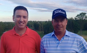 Lee Curry (left) and Bob Flaro (right) win the 2016 Flagstick.com Player's Tour Pro-Pro Championship