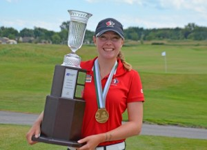 Grace St-Germain Wins the 2016 Ontario Women's Amateur Championship (Photo: Golf Ontario)