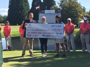 Brooke Henderson wins the 2016 Cambia Portland Classic (Photo: Cambia Portland Classic)