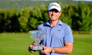 Dan McCarthy win the 2016 Cape Breton Open (Photo: Mackenzie Tour, Twitter)