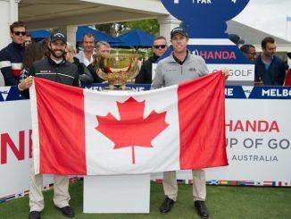Team Canada (Adam Hadwin & David Hearn), 2016 World Cup of Golf (Photo: PGA TOUR)