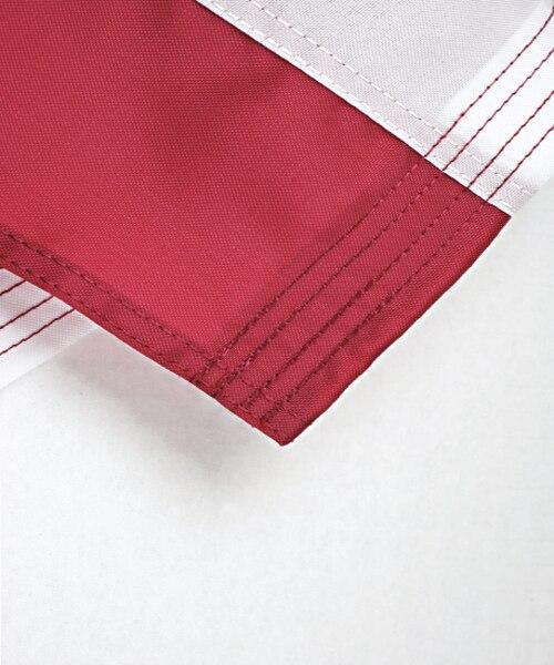 Quadruple and Double-stitched hem all around